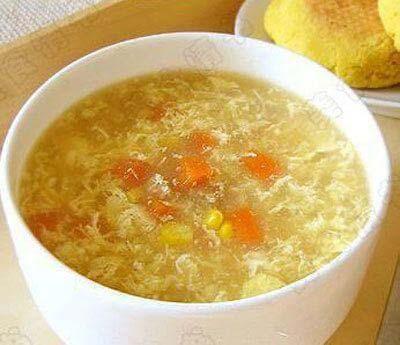 súp ngô