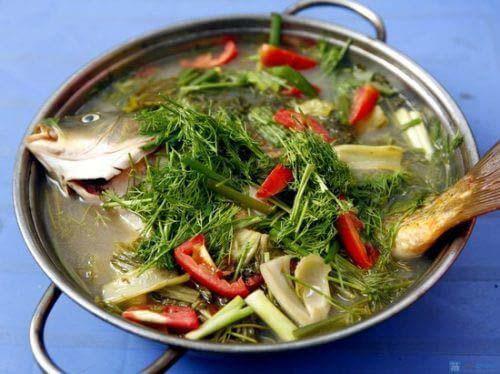 Cách nấu cá chép om dưa