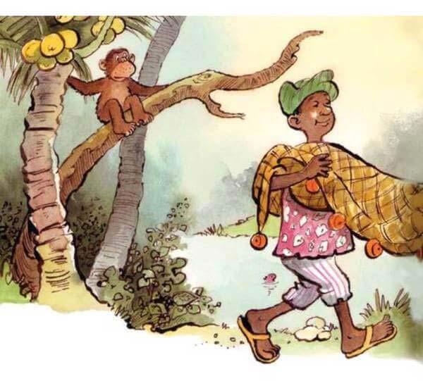 con khỉ và người đánh cá 5