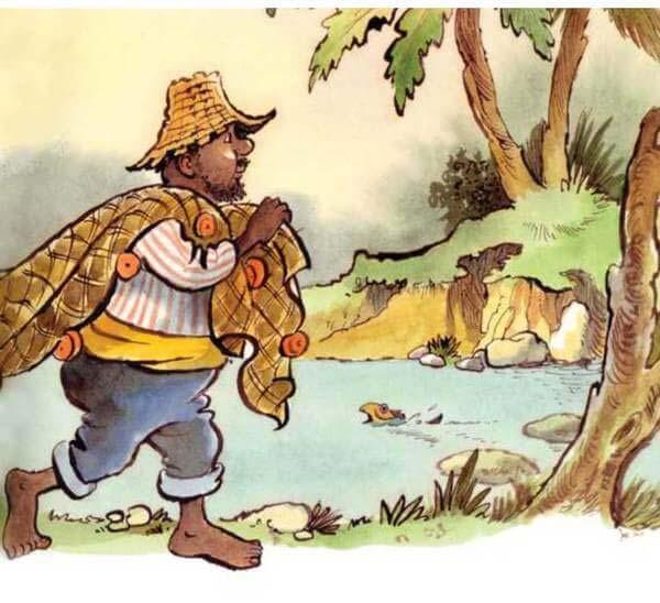 con khỉ và người đánh cá 6