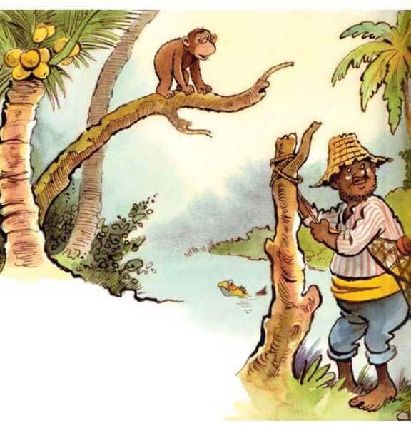 con khỉ và người đánh cá 7