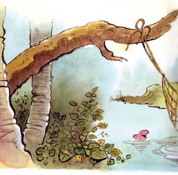 con khỉ và người đánh cá 11