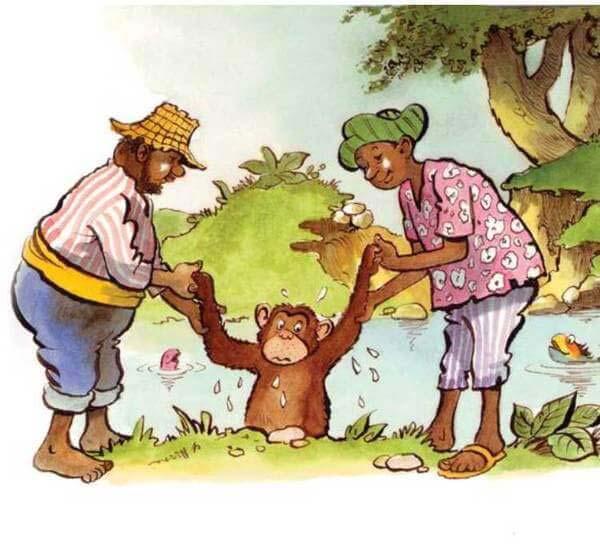 con khỉ và người đánh cá 14