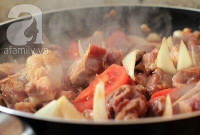 Món ngon cuối tuần: Thịt bò sốt vang 11
