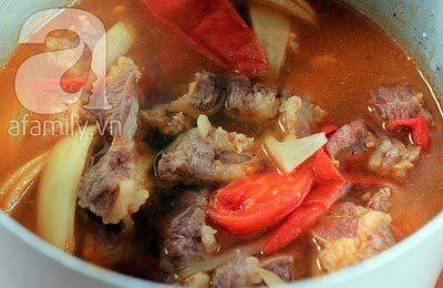 Món ngon cuối tuần: Thịt bò sốt vang 13