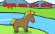 Ngựa con qua sông