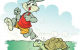 Truyện Thỏ và rùa chạy thi