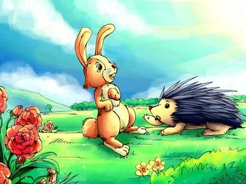 Truyện cổ tích chú thỏ và núi củ cải