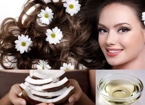 Tác dụng của dầu dừa với mái tóc