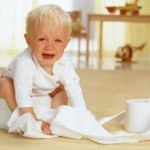chữa táo bón cho trẻ