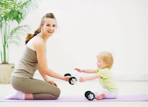 giảm cân sau sinh