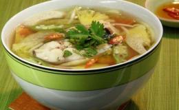 Hướng dẫn cách nấu canh chua cá bông lau ngon đậm đà