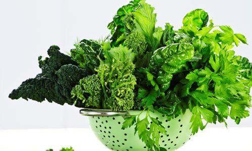Mổ ruột thừa nên ăn rau xanh