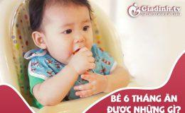 Trẻ 6 tháng ăn được những gì: Thực đơn ăn dặm cho bé 6 tháng tuổi ngon bổ dễ nấu