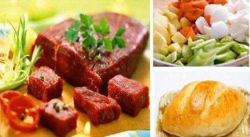 hướng dẫn nấu bò sốt vang