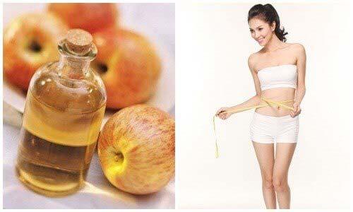 công dụng của giấm táo giảm cân hiệu quả