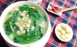 Cách nấu món canh ngao mồng tơi lạ miệng đưa cơm