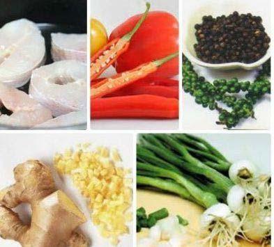 Nguyên liệu làm món cá lóc kho
