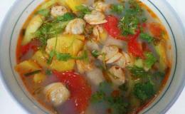Cách nấu món canh ngao nấm giải nhiệt mùa hè