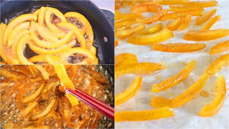 Cách làm mứt vỏ cam vàng