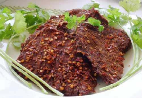 món thịt bò khô