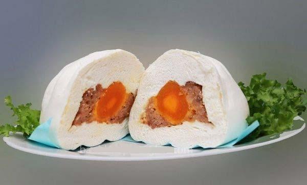 bánh bao trứng muối