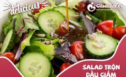 2 Cách làm salad trộn dầu giấm, xà lách ngon giòn miễn chê