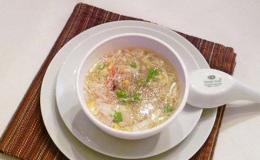 Cách nấu súp cua ngon mịn dành cho bữa xế của bé yêu