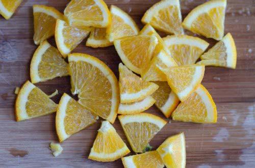 Cam vàng để làm salad trái cây