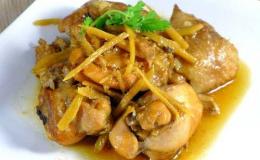 Cách nấu món vịt kho gừng đậm đà hương vị ngày đông