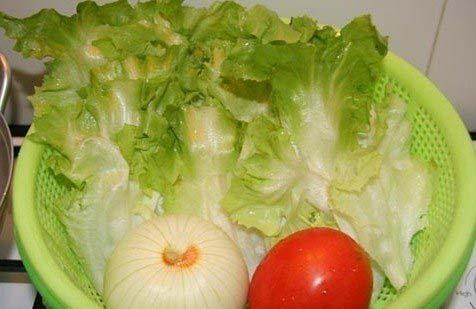 Nguyên liệu để làm salad trộn dầu giấm