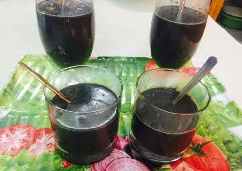 Chè đậu nành mè đen trân châu