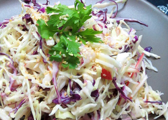 Salad bắp cải chua ngọt
