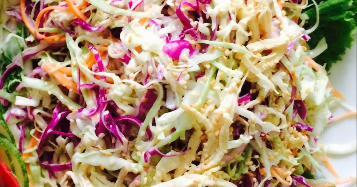 Salad bắp cải trộn