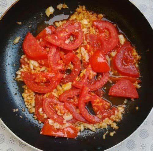 Xào cà chua