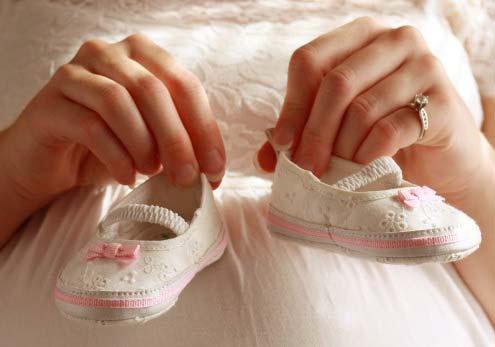 Dấu hiệu mang thai bé gái