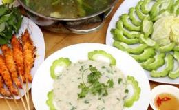 Lẩu cá thác lác ăn kèm với rau gì thì ngon và tốt cho sức khỏe?