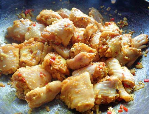 Ướp gà với sả ớt