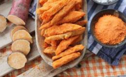 Cách làm khoai lang lắc phô mai ngon tại nhà