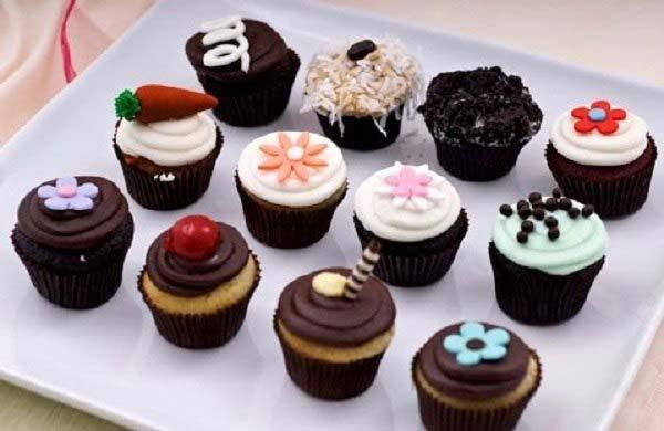Cách làm bánh cupcake dễ thương