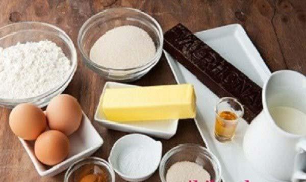 Nguyên liệu làm bánh cupcake