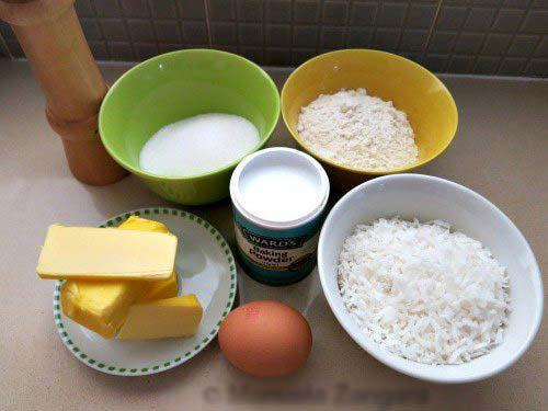 Cách làm bánh quy dừa