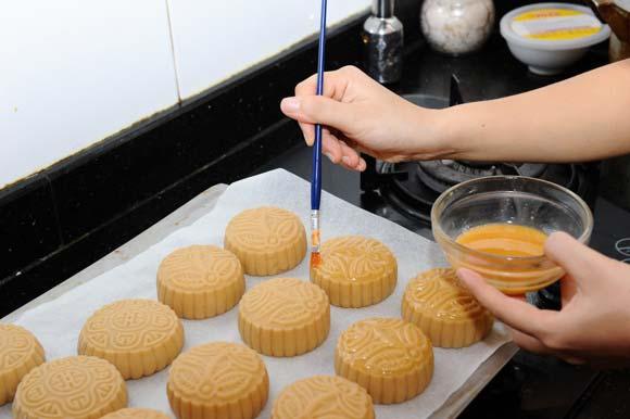 Cách làm bánh nướng nhân đậu xanh