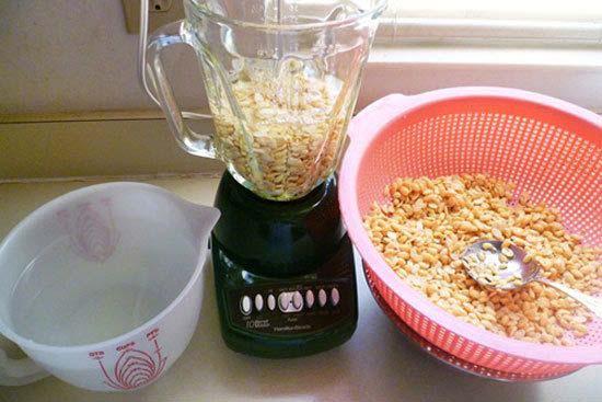 Cách làm sữa chua đậu nành.