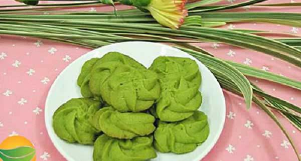 Hướng dẫn cách làm bánh quy trà xanh