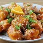 Hướng dẫn cách làm thịt gà sốt cam