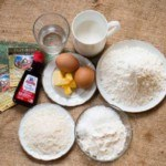 Nguyên liệu làm bánh rán nhân su kemNguyên liệu làm bánh rán nhân su kem