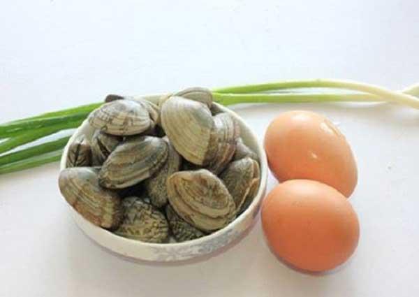Nguyên liệu làm ngao hấp trứng
