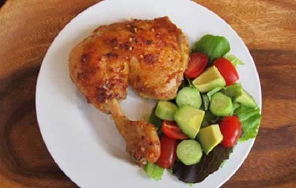 Nướng gà và thưởng thức