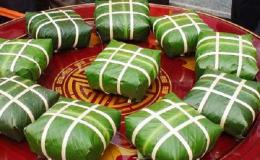 Cách gói bánh chưng ngày Tết cổ truyền không cần khuôn